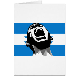 Scream for Honduras Card