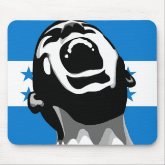 Scream for Honduras Mouse Pad