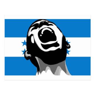 Scream for Honduras Postcard