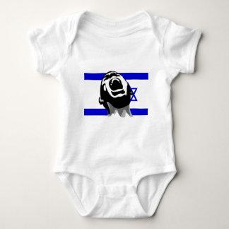 Scream for Israel Baby Bodysuit