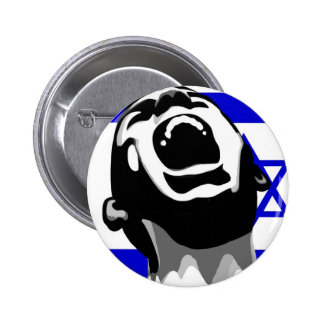 Scream for Israel Button