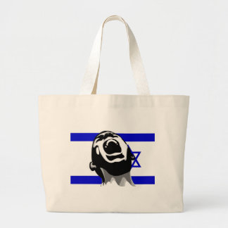 Scream for Israel Canvas Bags