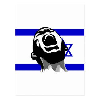 Scream for Israel Postcard