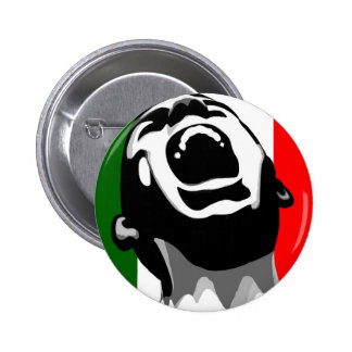 Scream for italy 2 inch round button