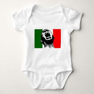 Scream for italy baby bodysuit