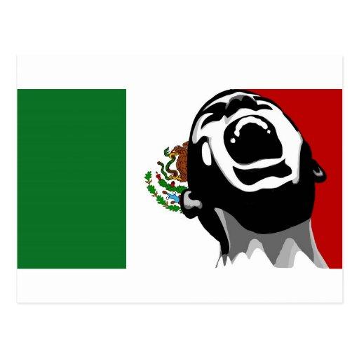 Scream for Mexico Postcard