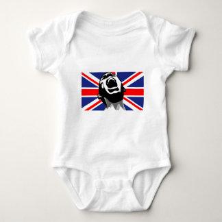 Scream for the UK Baby Bodysuit