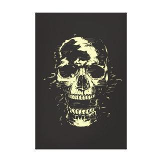 Scream (gold version) canvas print