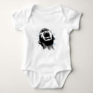 Scream halo baby bodysuit