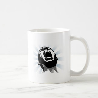 Scream halo coffee mug