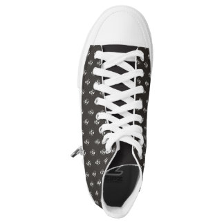 Scream High-Top Sneakers