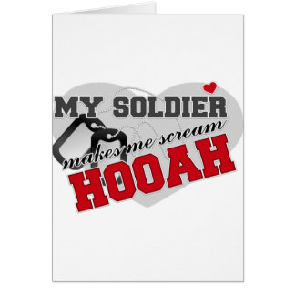 Scream HOOAH Card