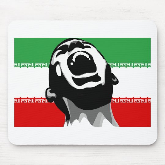 Scream Iran Mouse Pad