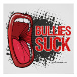 Scream It Bullies Suck Poster