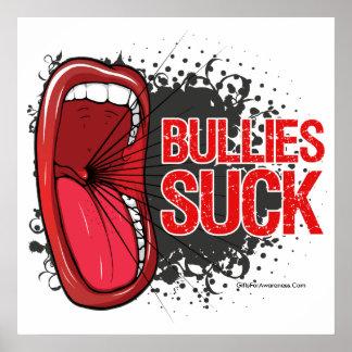 Scream It Bullies Suck Poster