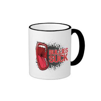 Scream It Bullies Suck Ringer Coffee Mug