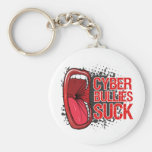 Scream It Cyber Bullies Suck Keychains
