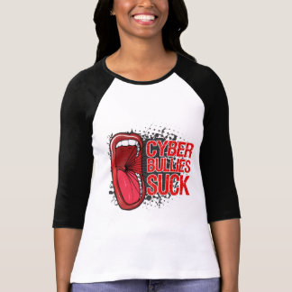 Scream It Cyber Bullies Suck Shirt