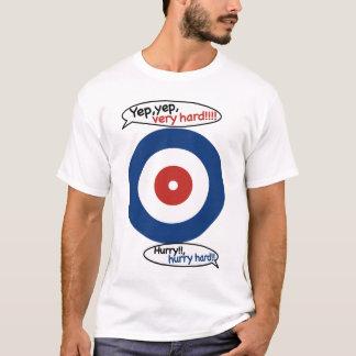 Scream!! Lock wind curling/YEP and VERY HARD T-Shirt