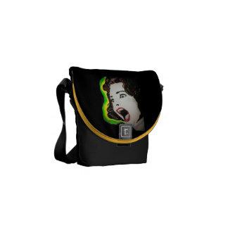 'Scream' Mini Messenger Bag
