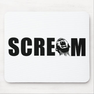 Scream Mouse Pad