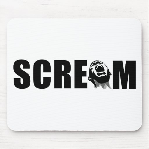 Scream Mouse Pad