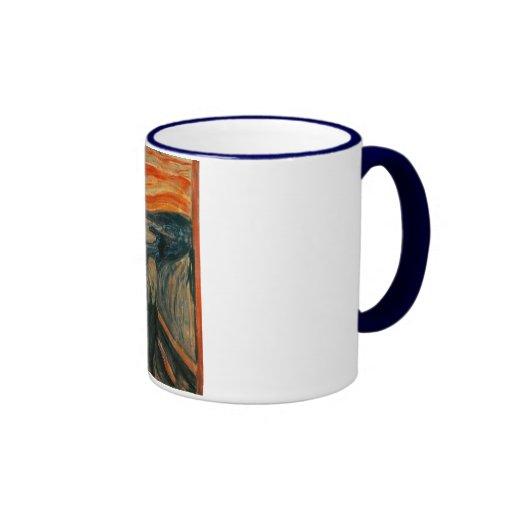 Scream Painting Mugs