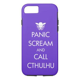 Scream Panic and Call Cthulhu iPhone 8/7 Case