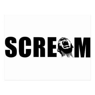 Scream Postcards