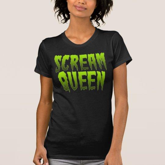 Scream Queen Goth Halloween Zombie T-Shirt