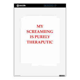 SCREAM SKIN FOR THE iPad 2