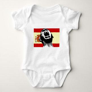 Scream Spain Baby Bodysuit