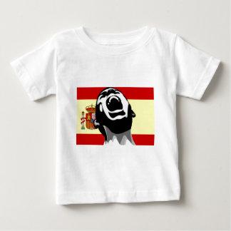 Scream Spain Baby T-Shirt