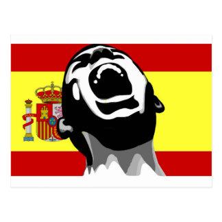 Scream Spain Postcard