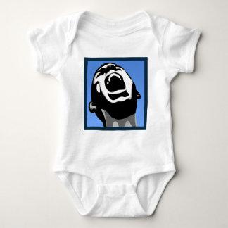 Scream Square Baby Bodysuit