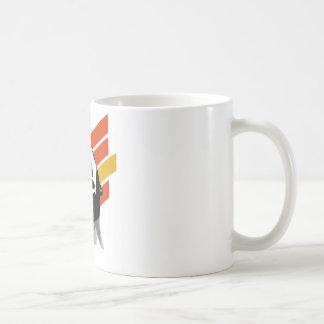 Scream stripes coffee mug