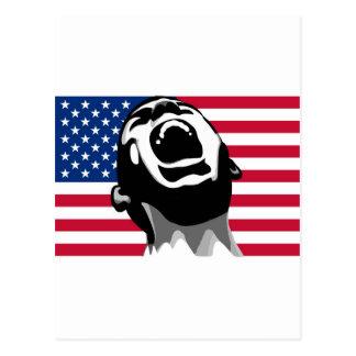 Scream USA Postcard