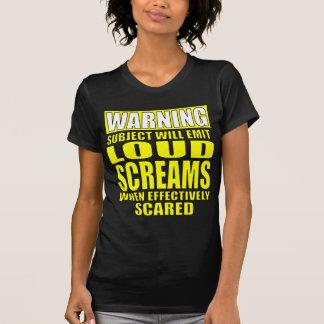 Scream-Warning Shirts