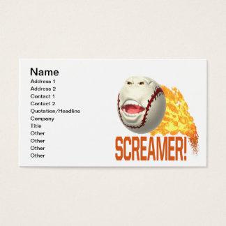 Screamer Business Card