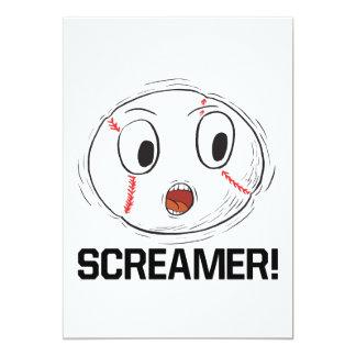 Screamer Card