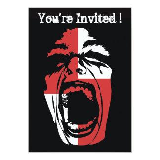 Screamer Halloween Party Invitation