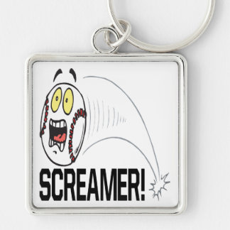 Screamer Keychain