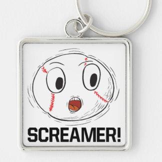 Screamer Keychain