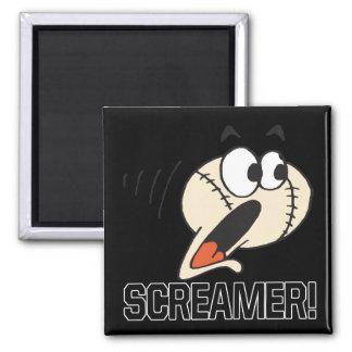 Screamer Fridge Magnet