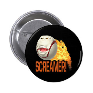 Screamer Pinback Button
