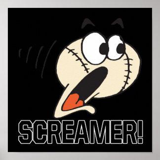 Screamer Print