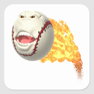 Screamer Square Sticker