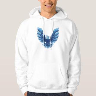 Screamin Eagle  Blue 2 Distressed Pullover