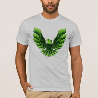 Screamin Eagle Green 2 Distressed T-Shirt