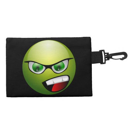 Screamin' Green Meanie Accessory Bags